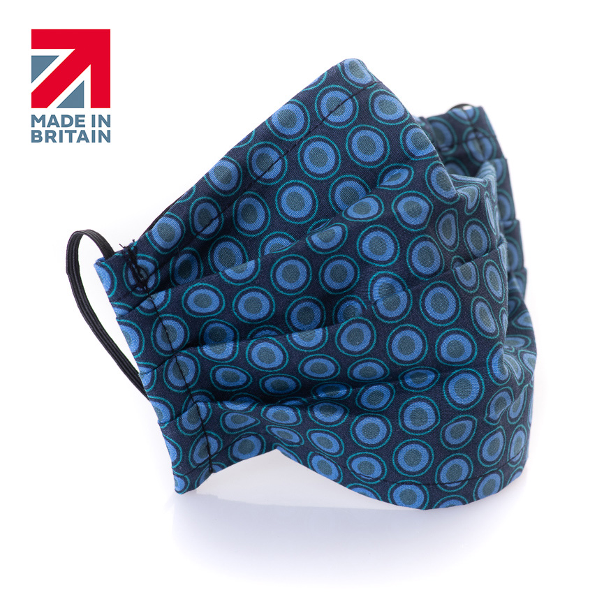 Reusable Cotton Fabric Face Masks Adults With Pocket For Filter